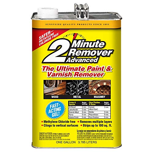 Sunnyside 2-Minute Paint & Varnish Remover ADVANCED Gel, Gallon, 2-Pack, 634G1