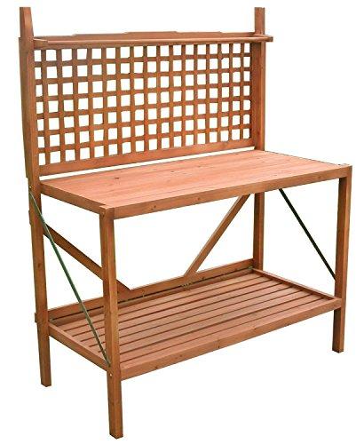 (Hamptons Collection Folding Potting Bench)