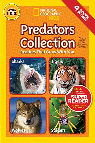 National Geographic Readers: Predators Collection: Readers That Grow With You