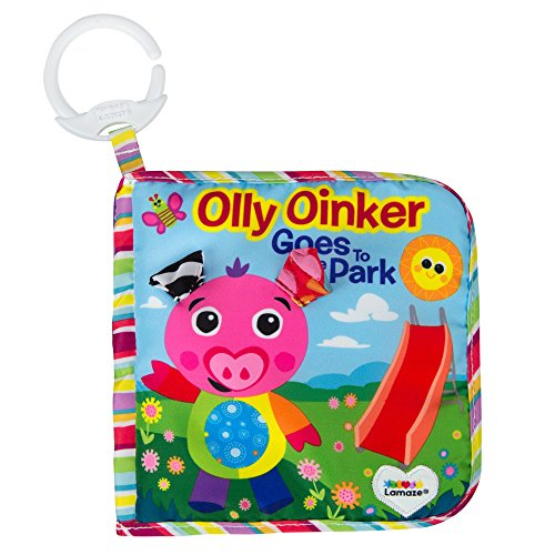 Lamaze Olly Oinker Goes to The Park Soft Book