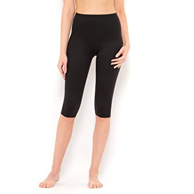 e2b6584b59a FLEXEES by Maidenform Shaping Capri Length Leggings