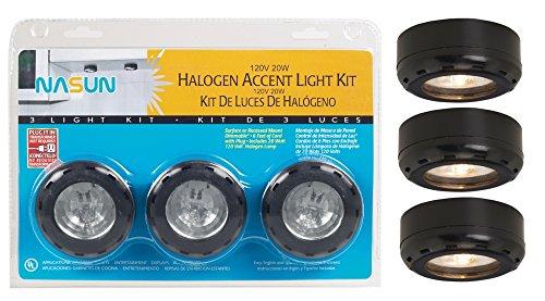 Black Watt 3 Pack Halogen Light product image
