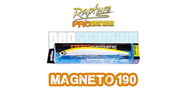 RAPTURE - MAGNETO 190 - Señuelo pesca - Spinning - COLOR SFY ...