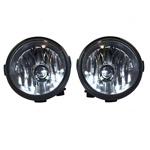 Pair Set Fog Lights Fog Lights Lamps Replacement for Infiniti Nissan SUV Van 26150-8993B NI2590103