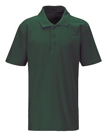 bbec4b8cb New Blue Max Kids Classic Polo Shirts Children School Uniform T-Shirt Top  Jnr: Amazon.co.uk: Clothing