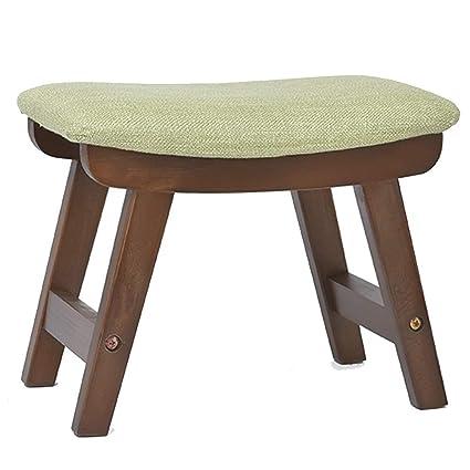 Amazon.com: WEIYV-Barstools,bar Chair Solid Wood Small Stool Living ...