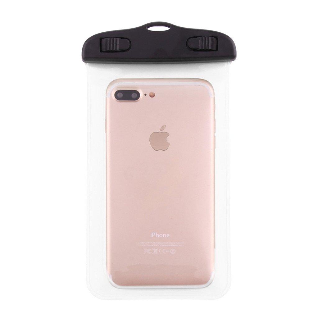 DFV mobile Custodia Spiaggia Protettiva Impermeabili 30M Subacquee Subacqueo Compatibile con iPhone 4S Trasparente