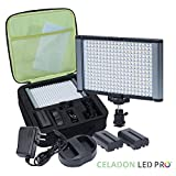Radiant 2XL 280 LED CRI 95+ Anodized Aluminum Bi-Color Temperature Video And On-Camera Light