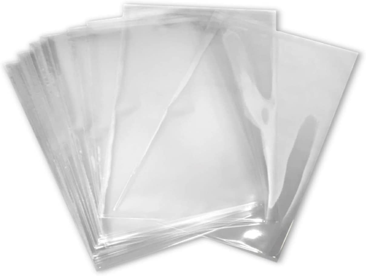 4x8 inch Odorless, Clear, 100 Guage, PVC Heat Shrink Wrap Bags for Gifts, Packagaing, Homemade DIY Projects, Bath Bombs, Soaps, and Other Merchandise (100 Pack) | MagicWater Supply