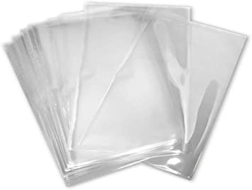 Clear shrink wrap Bags 5x8 High Clarity Heat Shrink Bags You Choose Quantity