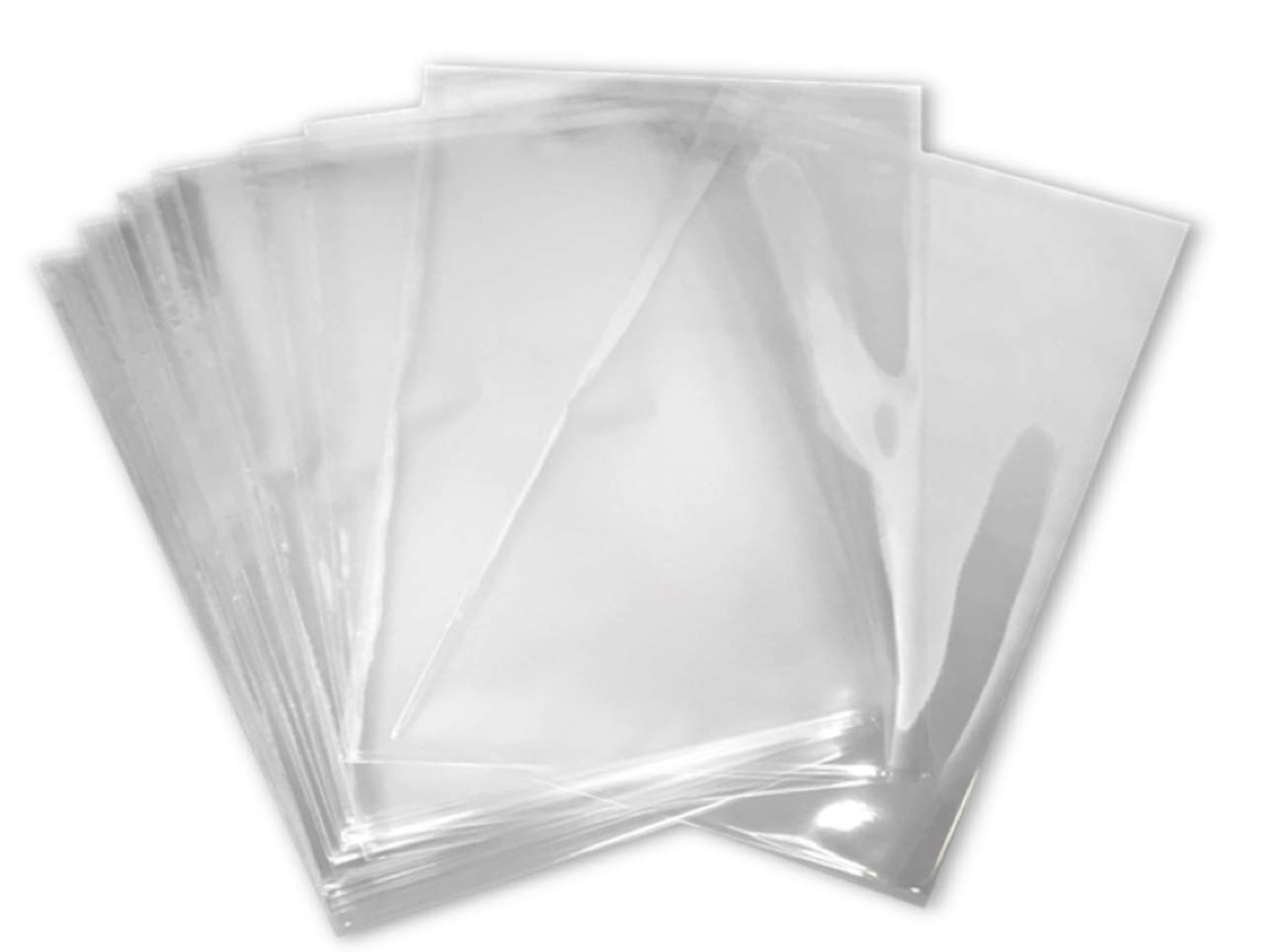 5x8 inch Odorless, Clear, 100 Guage, PVC Heat Shrink Wrap Bags for Gifts, Packagaing, Homemade DIY Projects, Bath Bombs, Soaps, and Other Merchandise (200 Pack) | MagicWater Supply