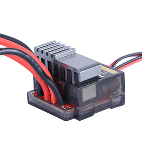 Double Way 320A Brush ESC Electric Speed Controller Governor fr HSP HPI 3S Lipo