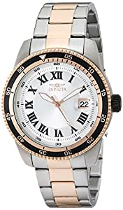 Invicta Men's 13991 Pro Diver Automatic Silver Dial Two Tone Stainless Steel Watch