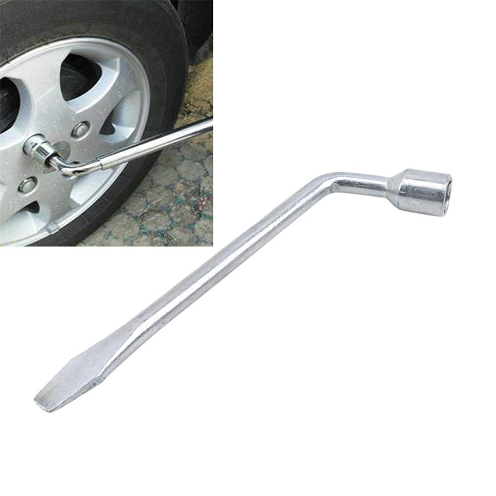 JIFNCR Tire Hex Key Socket Spanner Wheel Brace Lug Nut Extending Wrench Car Truck,1#