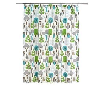 DwellStudio Shower Curtain Owls