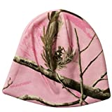 Realtree Licensed Camo Knit Hunting Beanie Pink Camo