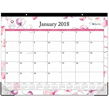 Amazon Com Desk Calendar 2018 22 Quot X17 Quot Runs From Now