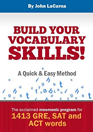 Amazon.com: Build Your Vocabulary Skills! A Quick and Easy Method ...