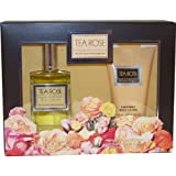 Tea Rose By Perfumers Workshop For Women. Set-edt Spray 4 oz & Body Lotion 4.4 oz
