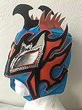 Kalisto lucha dragons kids mask Blue W/ orange sin cara mil LUCHA
