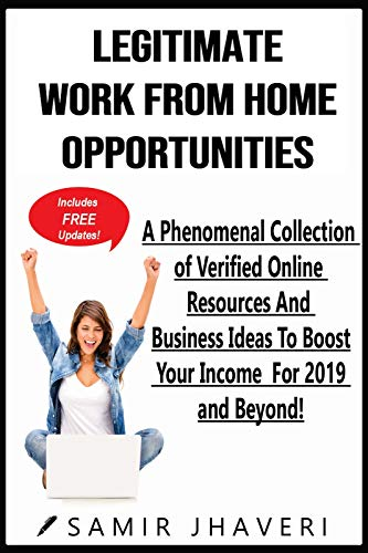 #freebooks – [Kindle] Legitimate Work From Home Opportunities: A Phenomenal Collection of Verified Online Resources And Business Ideas – FREE until February 7th