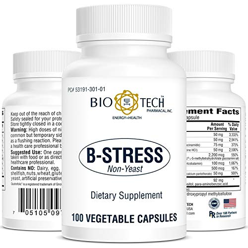 BioTech Pharmacal - B Stress - 100 Count