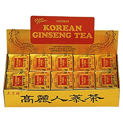 - Prince Of Peace Instant Korean Panax Ginseng Tea - 100 Count