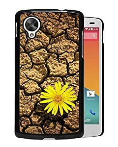 Flower Daisy On Drought Durable High Quality Google Nexus 5 Case