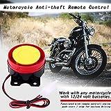 12V Universal Motorcycle Alarm System Remote