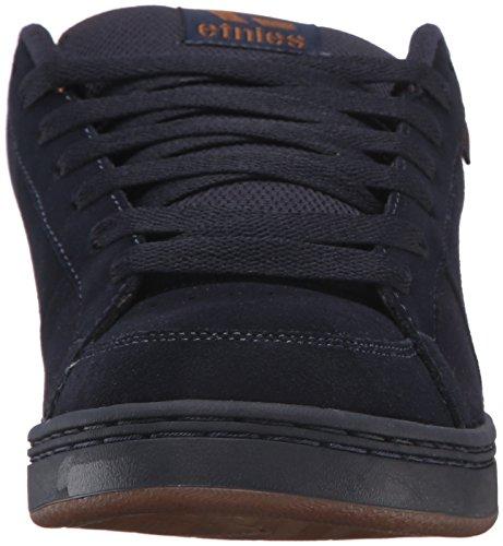 Etnies Kingpin Skate Zapato Azul Marino / Azul Marino / Goma