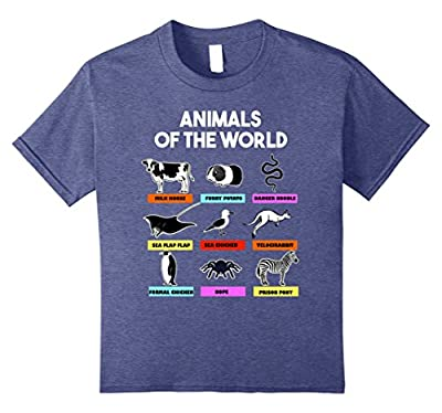 Better Names - Funny Animals Of The World Tshirt Kids Gift