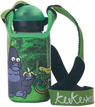 Laken Kukuxumusu 12oz - 350ml kids water bottle with Neoprene cover (Mono)