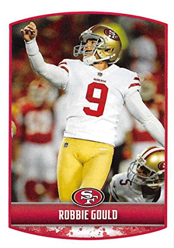 2018 Panini NFL Stickers Collection #421 Robbie Gould San Francisco 49ers Official Football ()