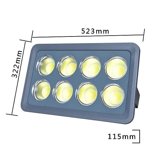 Q-fo Foco Proyector LED Exterior, Luz De Inundación COB ...