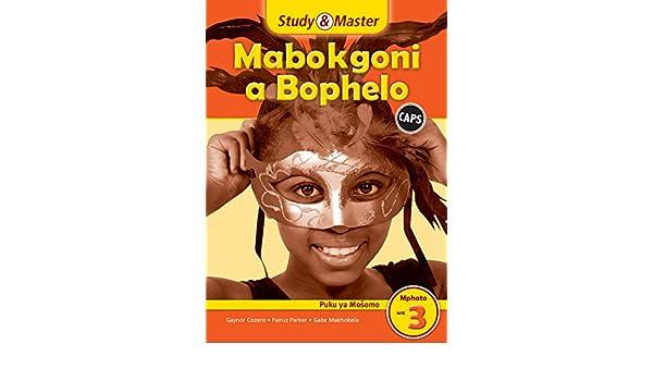 Study and Master Life Skills Grade 3 Caps Workbook Sepedi ...