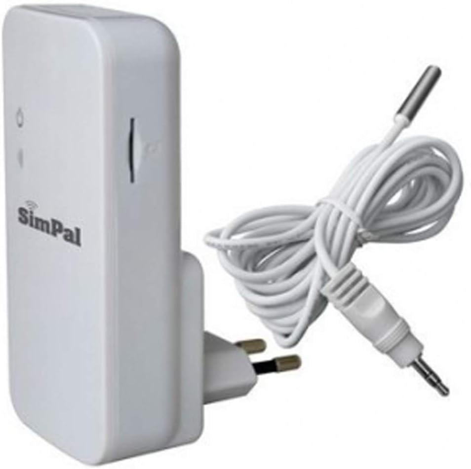 Simpal T2 SMS - Controlador de corte de corriente y temperatura ...