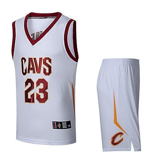 AKCHIUY Camiseta De Baloncesto Hombre,NBA Cavs 23 James Bordado ...