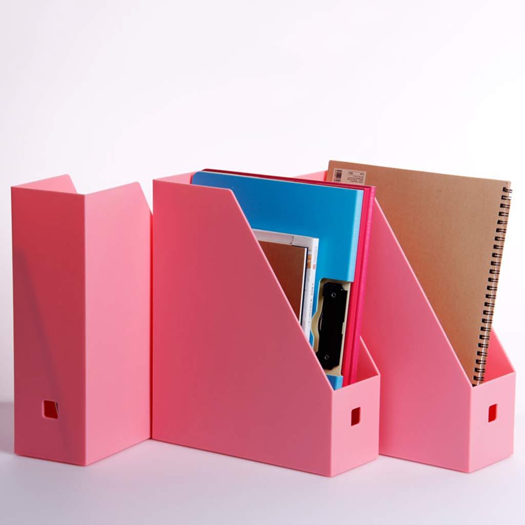 WJF Office Desk-Dateikorb Einzeldatei-Box Dateihalter Dateikasten Datenrahmen Dateikorb Desktop Büro Büro Büro Verwenden Creative PP-Material Durchscheinend (Farbe    2) B07P8DVCNM   Elegante Und Stabile Verpackung  27308c
