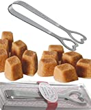 2 Pcs. Sugar Tongs for Tea Party | Wedding Favours for Guests | Heart Shaped Ice Tongs in Gift Box