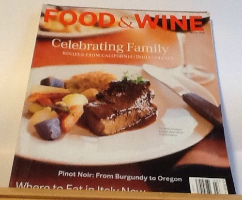 Food & Wine - March 1998