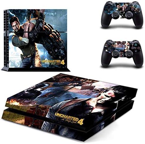 Playstation 4 + conjunto pegatina de protección – Uncharted 4 (9) /PS4: Amazon.es: Videojuegos