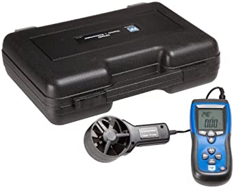 Robinair TIF3220 Thermo-Anemometer and IR Thermometer, LCD