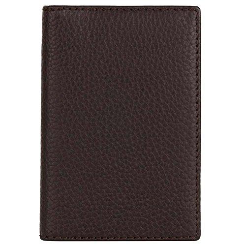 David Hampton Leather Passport Holder Cocoa Richmond by David Hampton