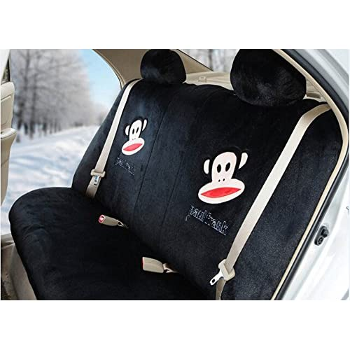 Durable Modeling Sexy Women Car Seat Covers Soft Plush 18pcs Wholesale Universal Front And Back