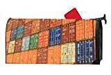 koasncne Home Business Cargo Cargo Container Summer Fall Magnetic Mailbox Cover
