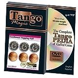 Eisenhower Hopping Half (w/DVD) (D0143) by Tango Magic - Trick