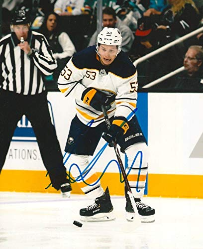 Autographed Jeff Skinner Picture - BUFFALO SABRES 8X10 w COA A - Autographed NHL Photos (Signed Nhl Photo Sabres Buffalo)