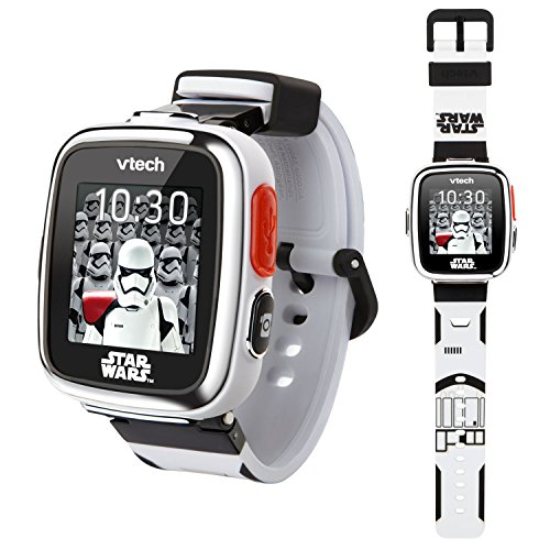 VTech Star Wars First Order Stormtrooper Smartwatch with Camera Amazon Exclusive, White ()