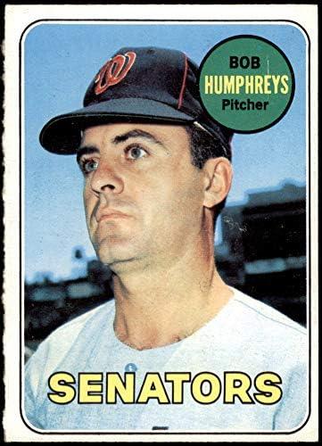 Bob Humphreys Washington Senators Custom Baseball Card 1966 Style Card That Could Have Been by MaxCards Mint Condition 2018