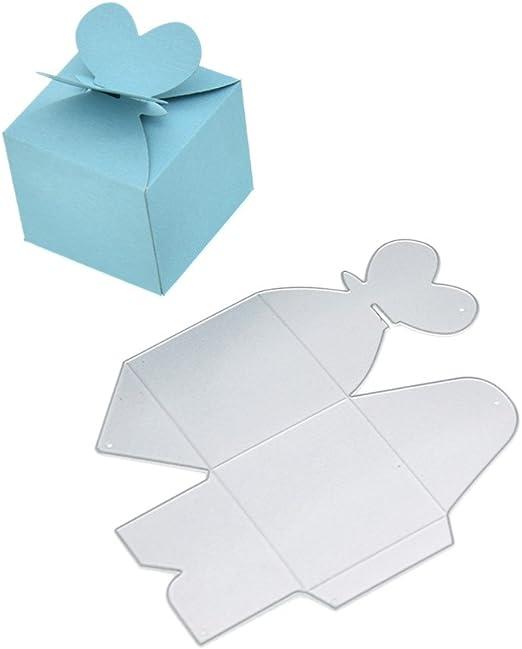 ynuth – Troquel Caja Caja Caja para Regalo Dulces artesanía DIY ...